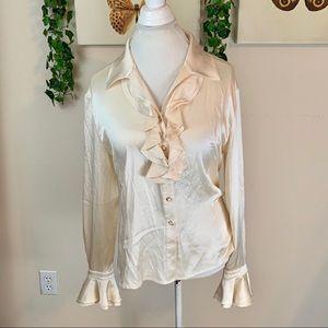 St. John | Silk Blouse Size 12